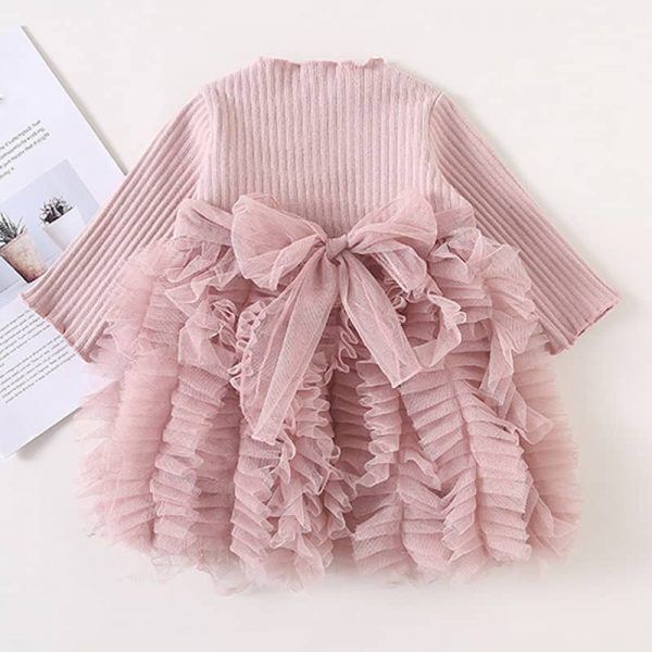 Fluffy Spring Fashion Baby Girls Princess Dress