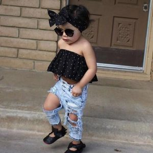 Fashion set for little girls