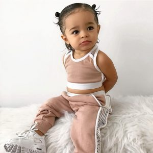Cool baby girl sports outfit